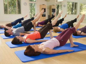 Join our group pilates class