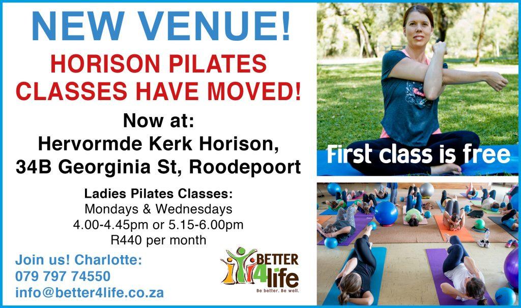 Pilates in Horison