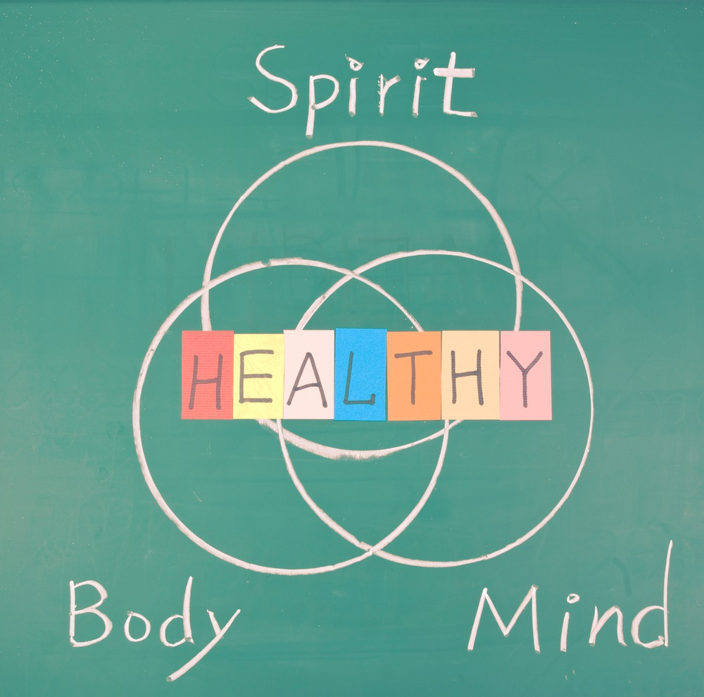 A quiet mind and a healthy spirit