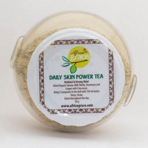 Herbal tea for radiant skin