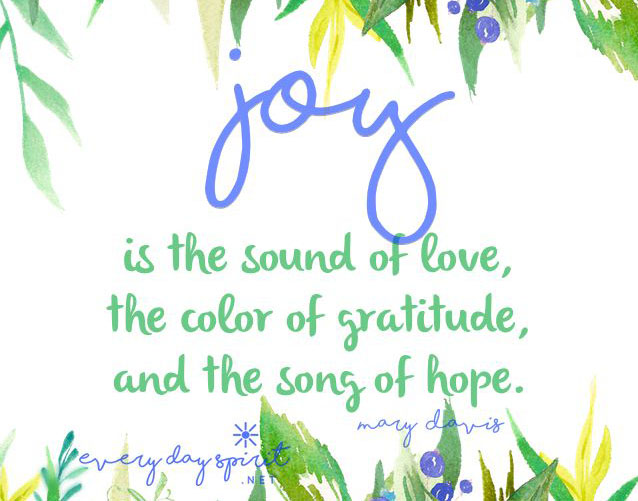 The remedy of joy